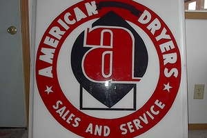 American Dryers sign
